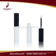 Negro y plata de color de alta calidad de larga duración impermeable botella de plástico eyeliner