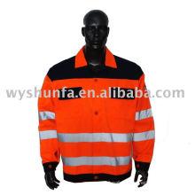safety workwear jacket