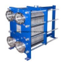 Ss304 intercambiador de calor de placa desmontable para el sistema de enfriamiento