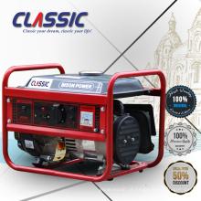 CLASSIC CHINA Home gerador de eletricidade 1.5kva gerador, longo tempo de operação Gerador de gasolina fábrica na China