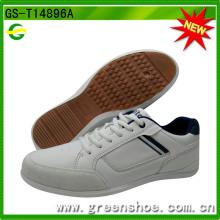 Heiße verkaufende preiswerte Mann-weiße beiläufige Schuhe