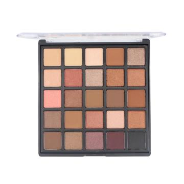 Private Label Cosmetics Pigmentation Makeup Paleta de sombras de ojos