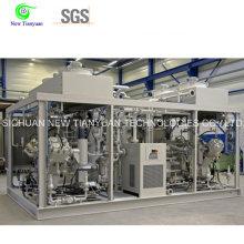550-5400nm3h Capacité Gamme 2 Compression Stages Compresseur de gaz naturel
