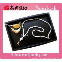Großhandel Schmuck Mode abnehmbare Lanyard mit Perlen