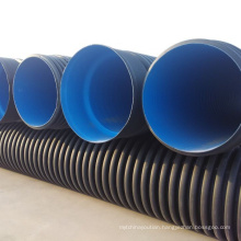 6 Inch 8 Inch 10 Inch 24 Inch HDPE double wall corrugated pipe price list