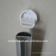 Рулонные шторы, нижняя направляющая крышка-пластиковая торцевая заглушка для рольставней