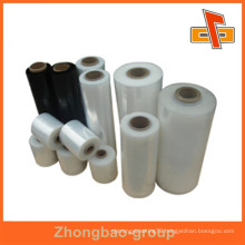 Plastic packaging material china supplier transparent stretch film with high extension for protective packaging