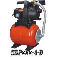 (SDP800-4-D) Bomba Booster jardim com tanque de aço