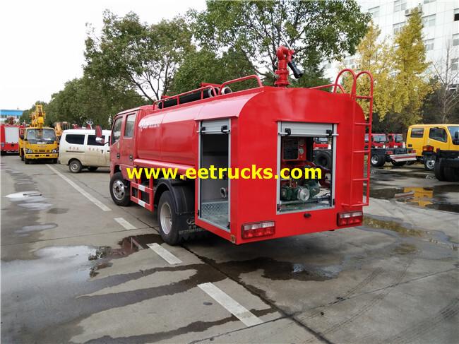 4000L Fire Truck Sprinkler Trucks