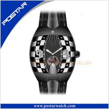 O Relógio De Pulso Suíço Automático De Couro Relógio De Pulso Psd-2325