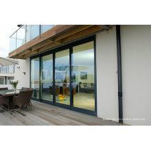 Плоская поверхность Sill Двойное стекло Алюминиевые окна и двери