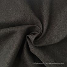 Tissu à rayures en lin à rayures en tissu tissé pour chemise (QF13-0245)