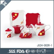 Jogo de chá cerâmico chinês feito sob encomenda da alta qualidade por atacado Eco-amigável