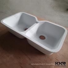 Évier de cuisine intégré fait sur commande de drainboard / éviers de cuisine antique