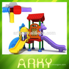 2015 kids outdoor playground garden plastic slide park playground equipment