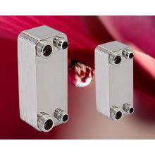 Échangeur de chaleur à plaques brasées en acier inoxydable AISI 316/304 pour eau solaire