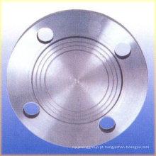 ANSI B16.5 Flange cego em aço inoxidável