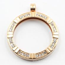 Usine gros 316L en acier inoxydable pendentif de mode pendentif pour les bijoux de cadeau