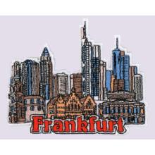 Fronteira bordada de Frankfurt, Emblema, distintivo