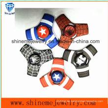 Shineme heiße verkaufende Metallfidget Spinner Hand Spinner (SMFH081B)