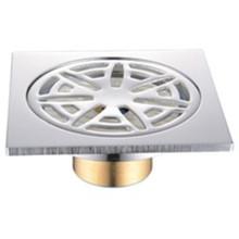 Chorme Plated Anti-Odor Brass Floor Drain