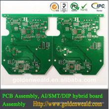 PCB à haute fréquence professionnel PCB PCB double face pcb