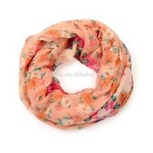 Fashion 100 poly girl infinity scarf