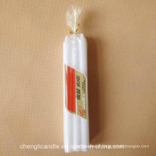 6PCS Poly Bag Packing Yemen White Candle