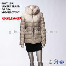 Goose Down Jacket Coat para o inverno 2018 estilo europeu
