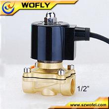 316 Válvula solenóide de baixo preço 12V de aço inoxidável à prova de água
