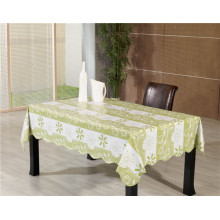 Printed PVC Tablecloth with Nonwoven Backing/Spunlace Backing in Roll Tj0086A