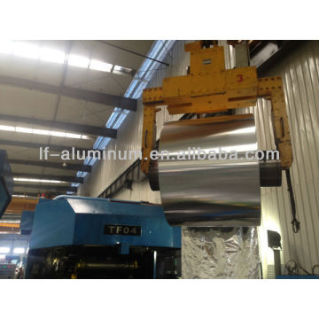 Aluminum foil rolling mill with various types of roll machines making machines