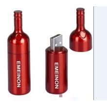 Botella de vino creativa USB Flash Memory