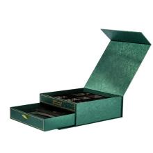 caixa de joias Caixas de papel impressas com log personalizado