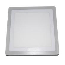 Lumière carrée blanche économiseuse d'énergie efficace de double panneau de couleur utilisée dans le bureau
