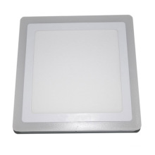 Efficient Energy Saving Cool White Double Color Square Panel Light Used in Office