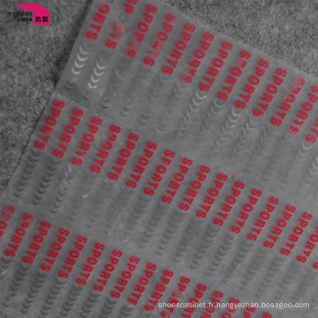 Étiquette de vêtements de label de transfert de chaleur de vêtement 3D qui respecte l'environnement