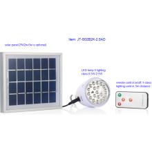 Замечательный дизайн Солнечной светодиодное освещение лампы с пультом дистанционного управления