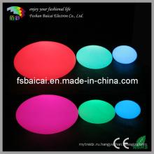Светодиодная пластиковая лампа для замены цвета