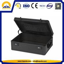 Black Aluminium Laptop Case Briefcase (HL-8005)