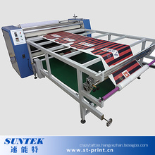 Large Format Roller Style Sublimation Transfer Machine for Ployester Fabric