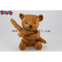 Unusual Holiday Gift Brown Teddy Bears Toy in Long Arm Design Bos1122