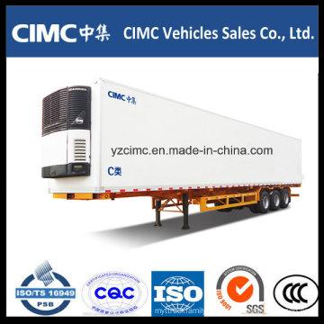 Cimc 3 Axles gekühlter Auflieger