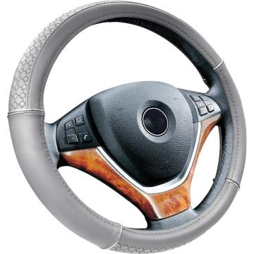 Silver bar Automoblie Car PU Steering Wheel Cover