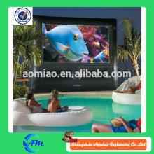 Piscina pantalla de cine para la venta