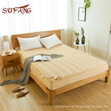 El hotel NewYork Fitzpatrick usó algodón fino en el protector de colchón acolchado medio