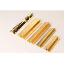 Perfis de cobre na melhor qualidade / perfil da indústria em tubos de pvc / perfil oco