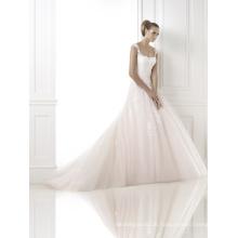 Long Train Lace Wedding Dress for Wedding