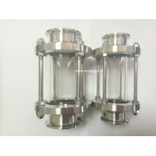 Sanitary Stainless Steel Clamped End Sight Glass