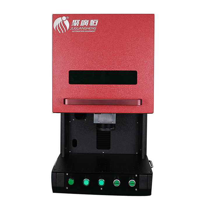 Jgh A 1 Fully Closed Optical Fiber Laser Engraving Machine